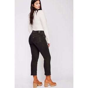 Levi's   Free People Curvy Straight Crop Jeans